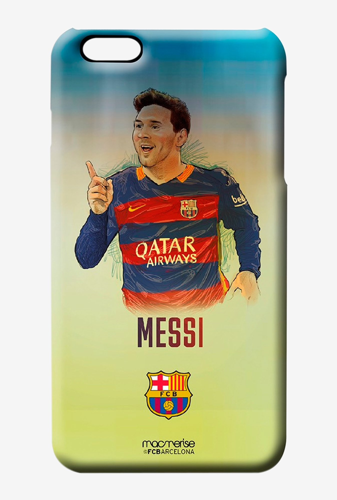 Macmerise Illustrated Messi Pro Case for iPhone 6 Plus