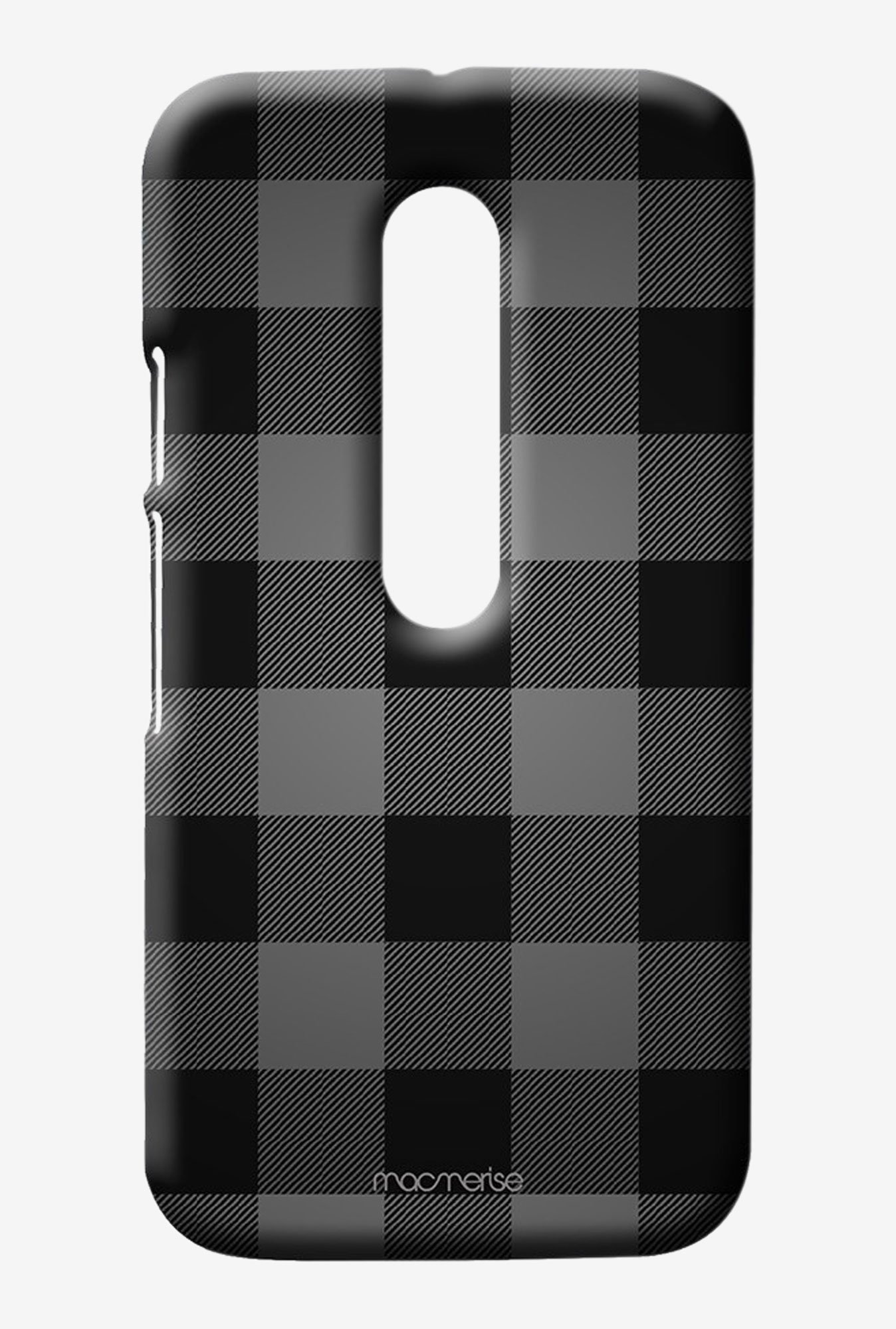 Macmerise Checkmate Black Sublime Case for Moto G3
