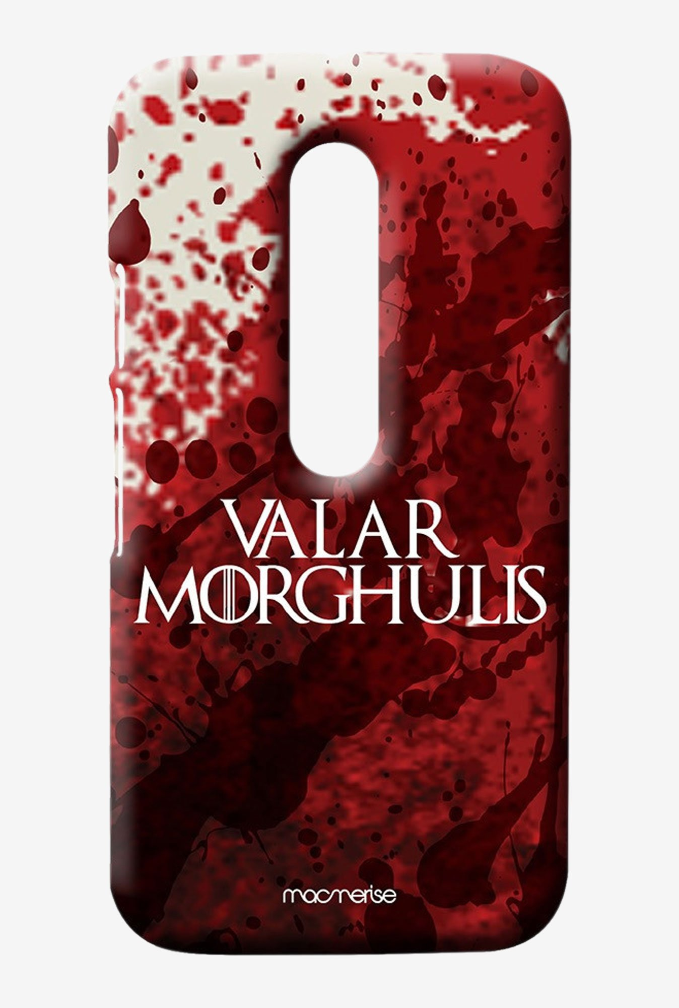 Macmerise Valar Morghulis Sublime Case for Moto G3