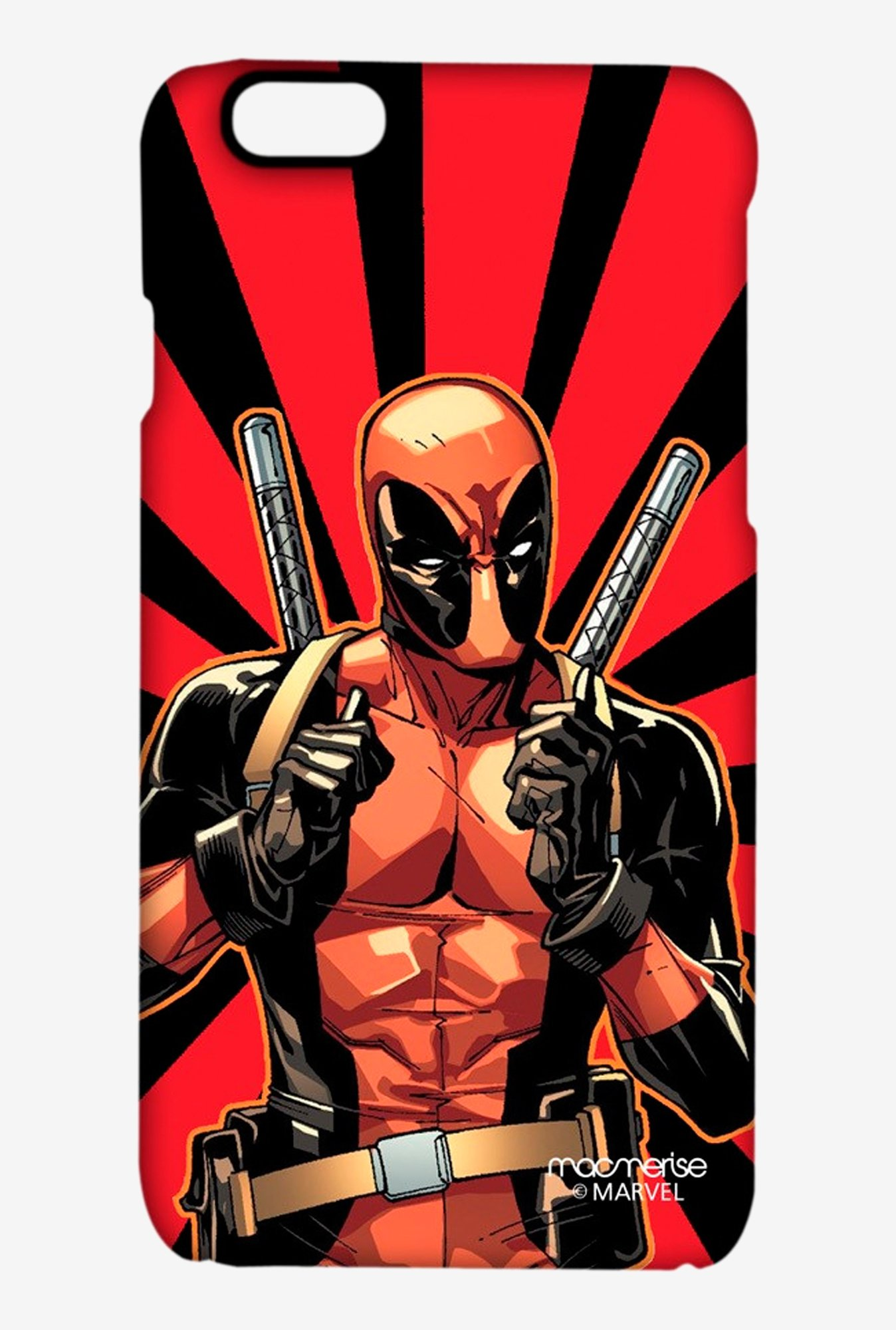 Macmerise Smart Ass Deadpool Pro Case for iPhone 6S