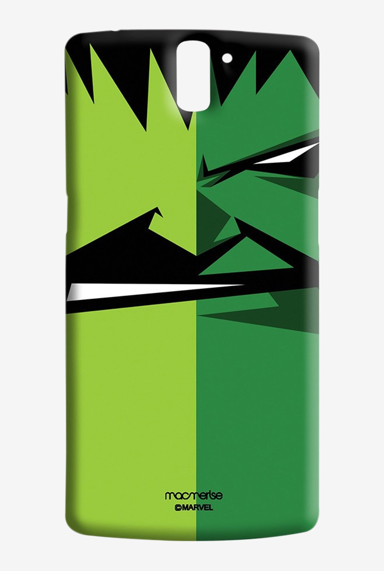 Macmerise Face Focus Hulk Sublime Case for Oneplus One