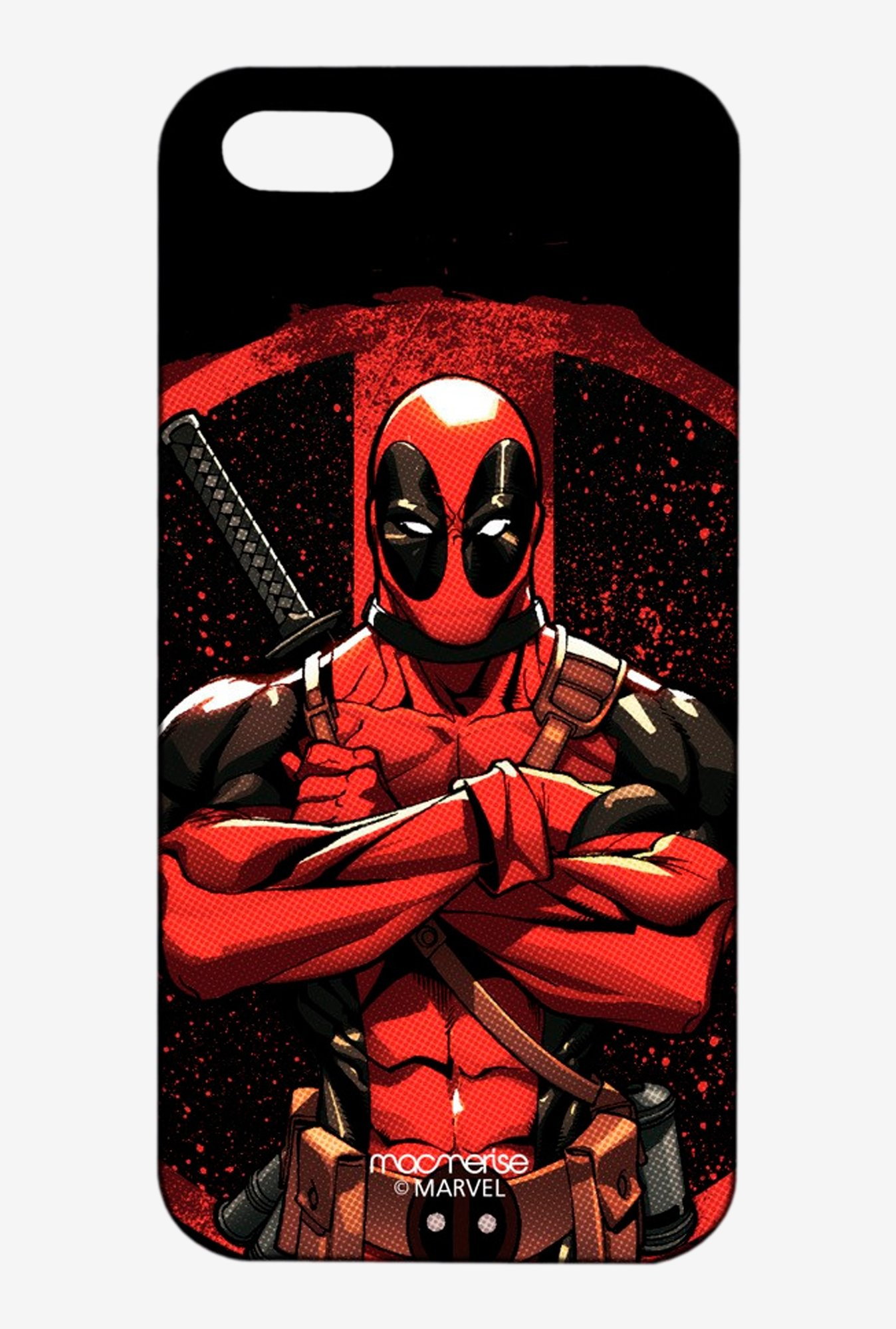 Macmerise Deadpool Stance Pro Case for iPhone 5/5S