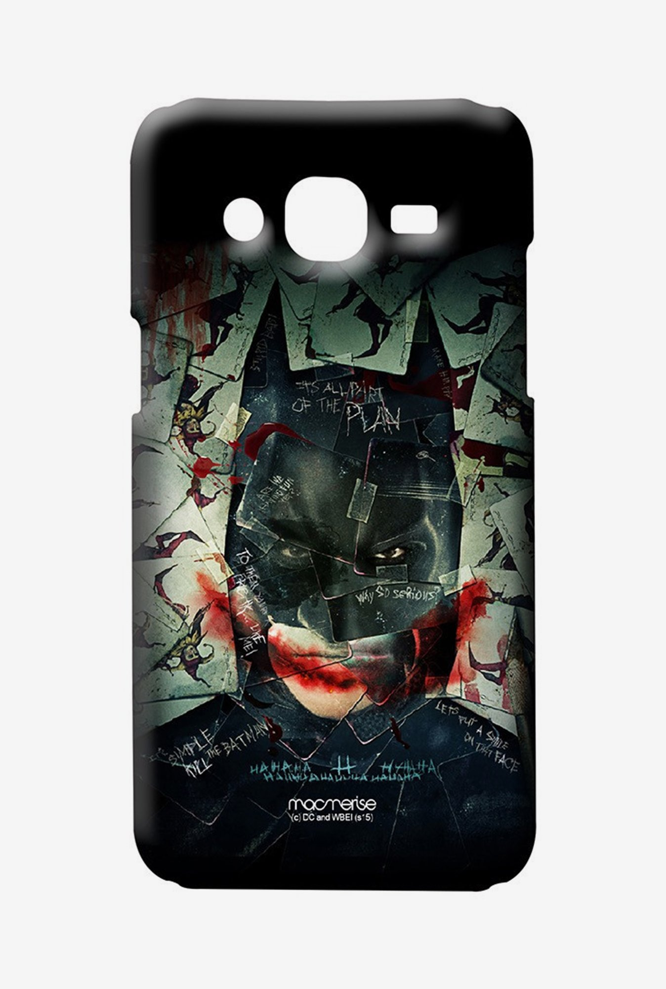 Macmerise Bat Joker Sublime Case for Samsung J7