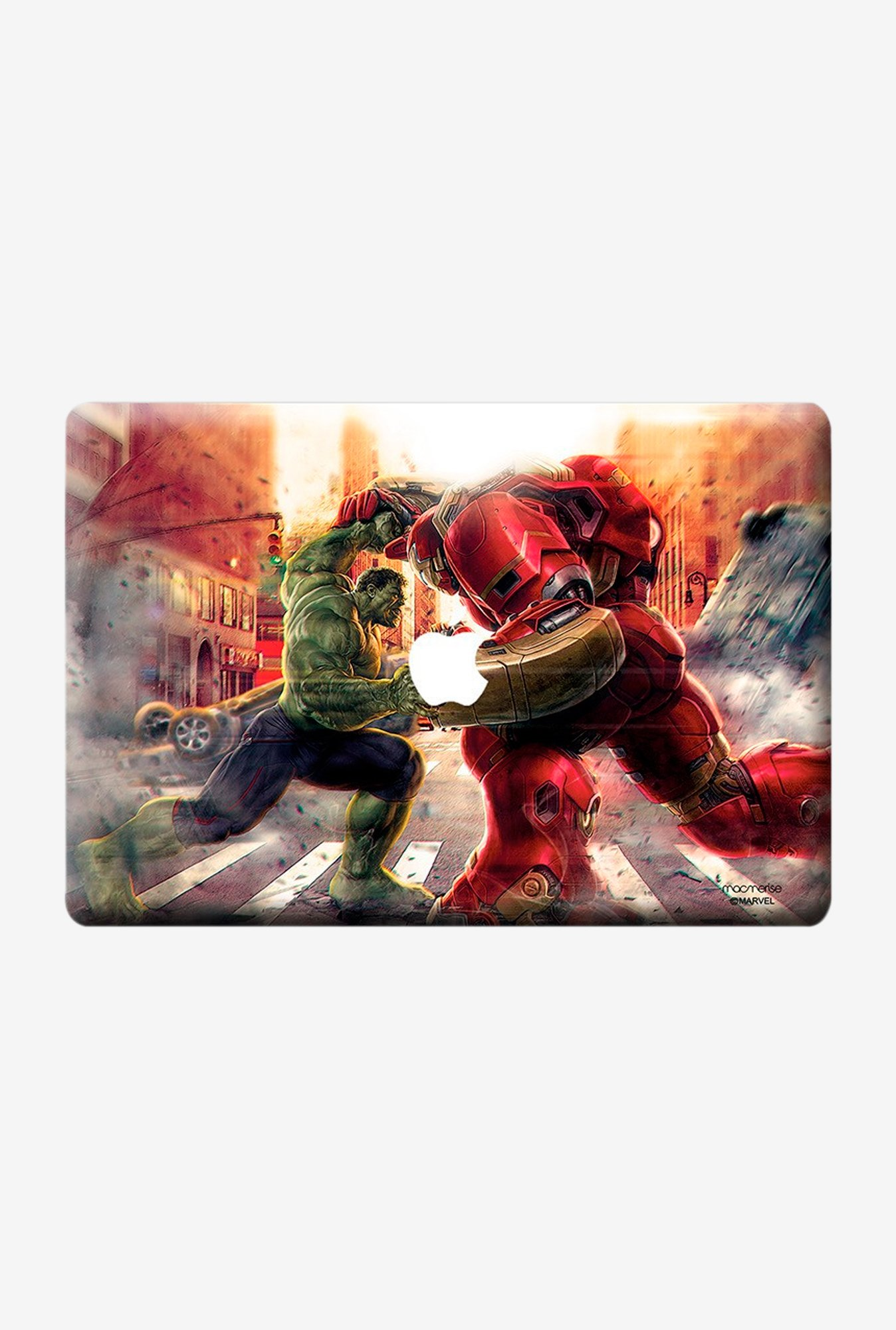 "Macmerise Monster Vs Machine Skin for 15"" MacBook Pro"
