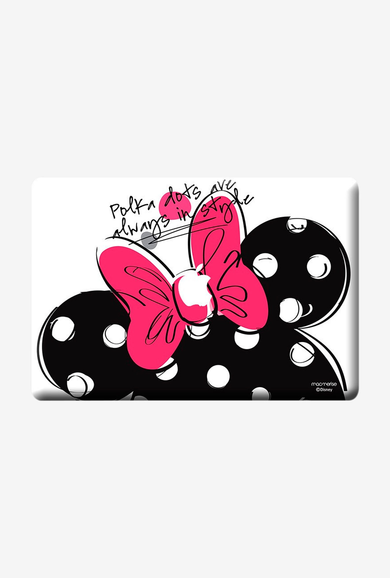 "Macmerise Polka Minnie Skin for 13"" MacBook Pro"