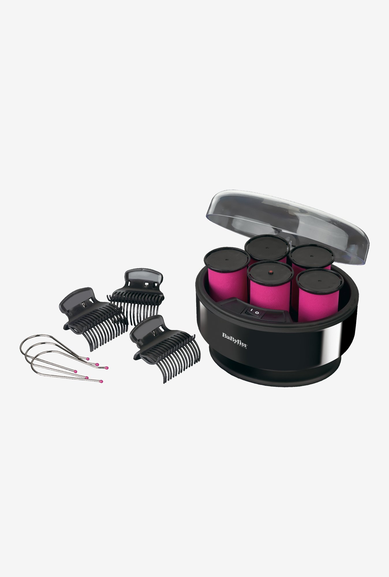 Babyliss 3038E Heated Rollers Set Black