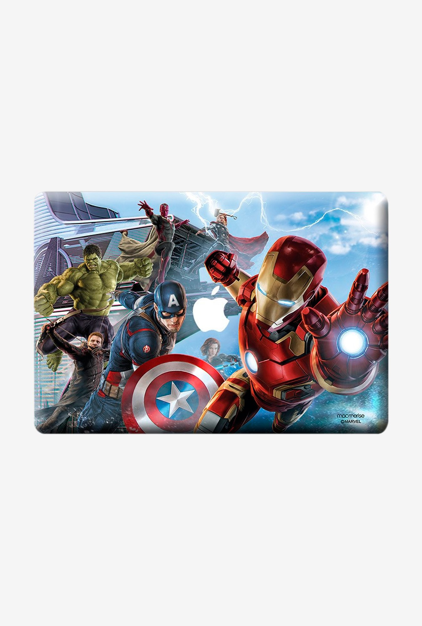 "Macmerise Avengers Ensemble Skin for 15"" MacBook Pro(Retina)"
