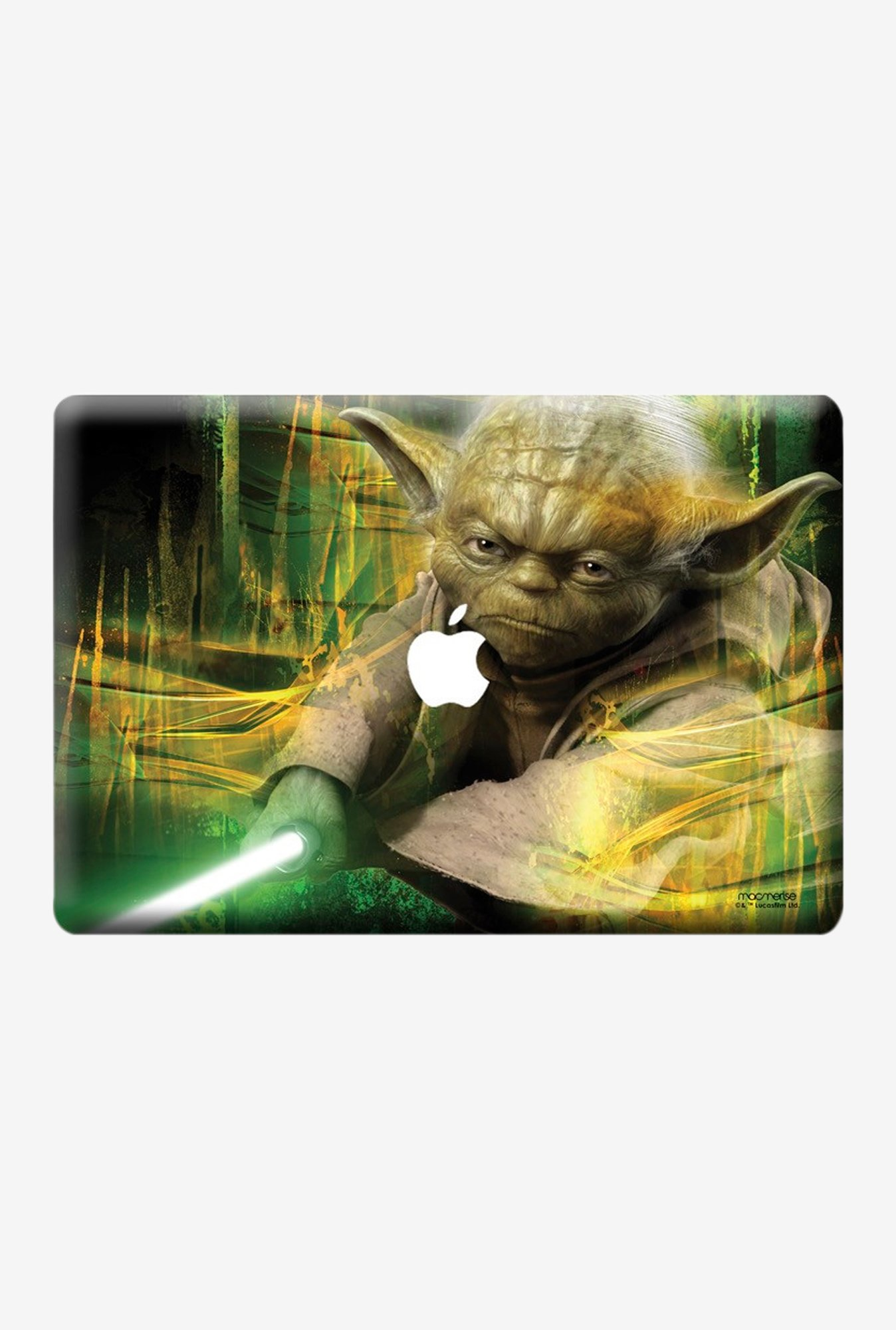 "Macmerise Furious Yoda Skin for 15"" MacBook Pro"