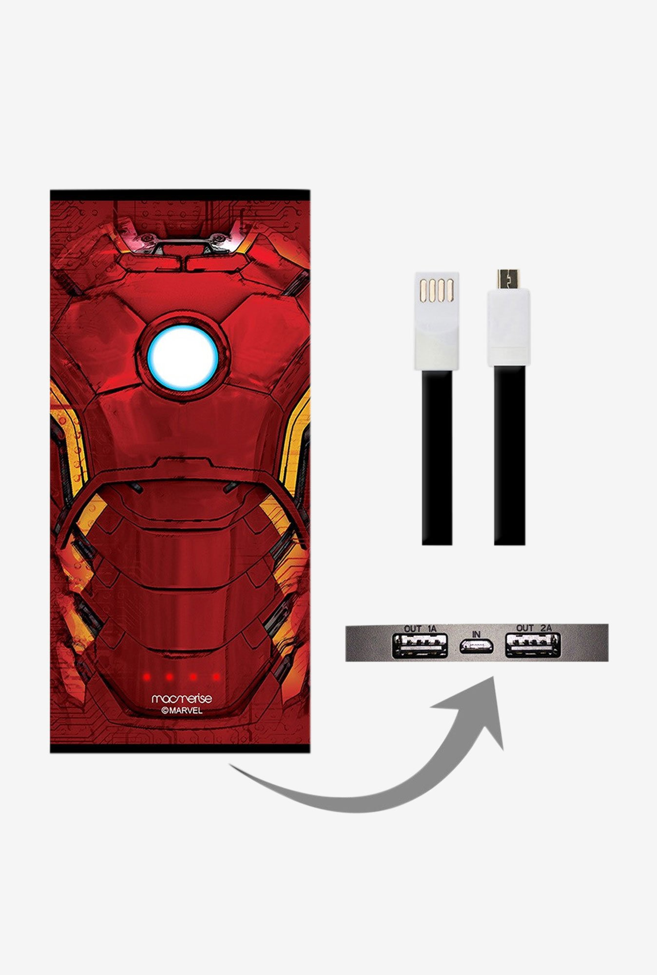 Macmerise Suit of Armour 8000 mAh Universal Power Bank