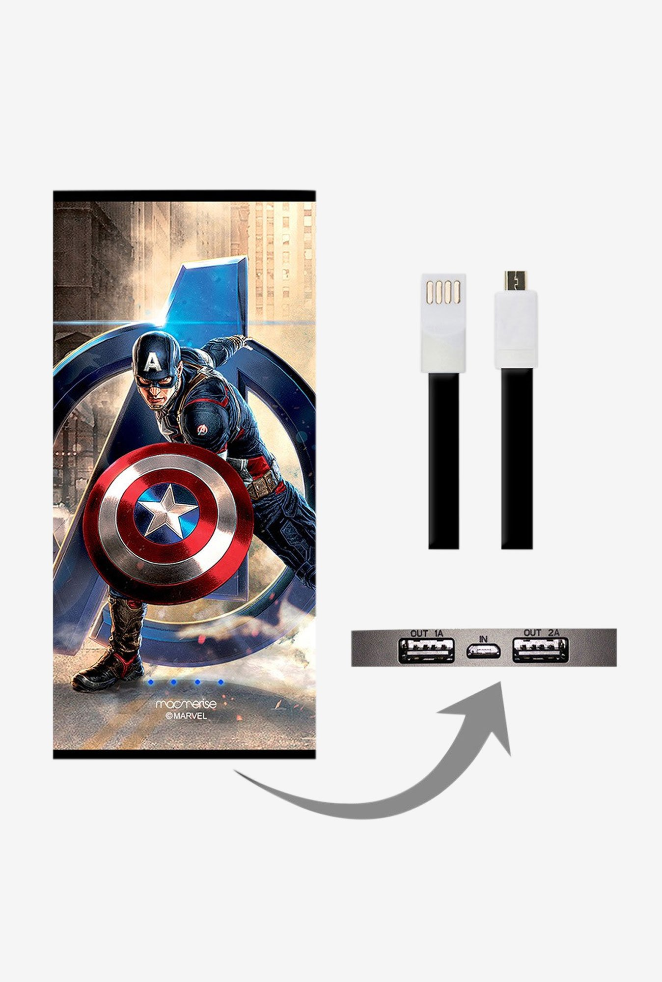 Macmerise Super Soldier 8000 mAh Universal Power Bank
