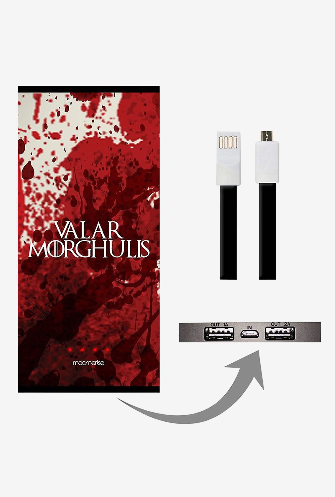 Macmerise Valar Morghulis 8000 mAh Power Bank