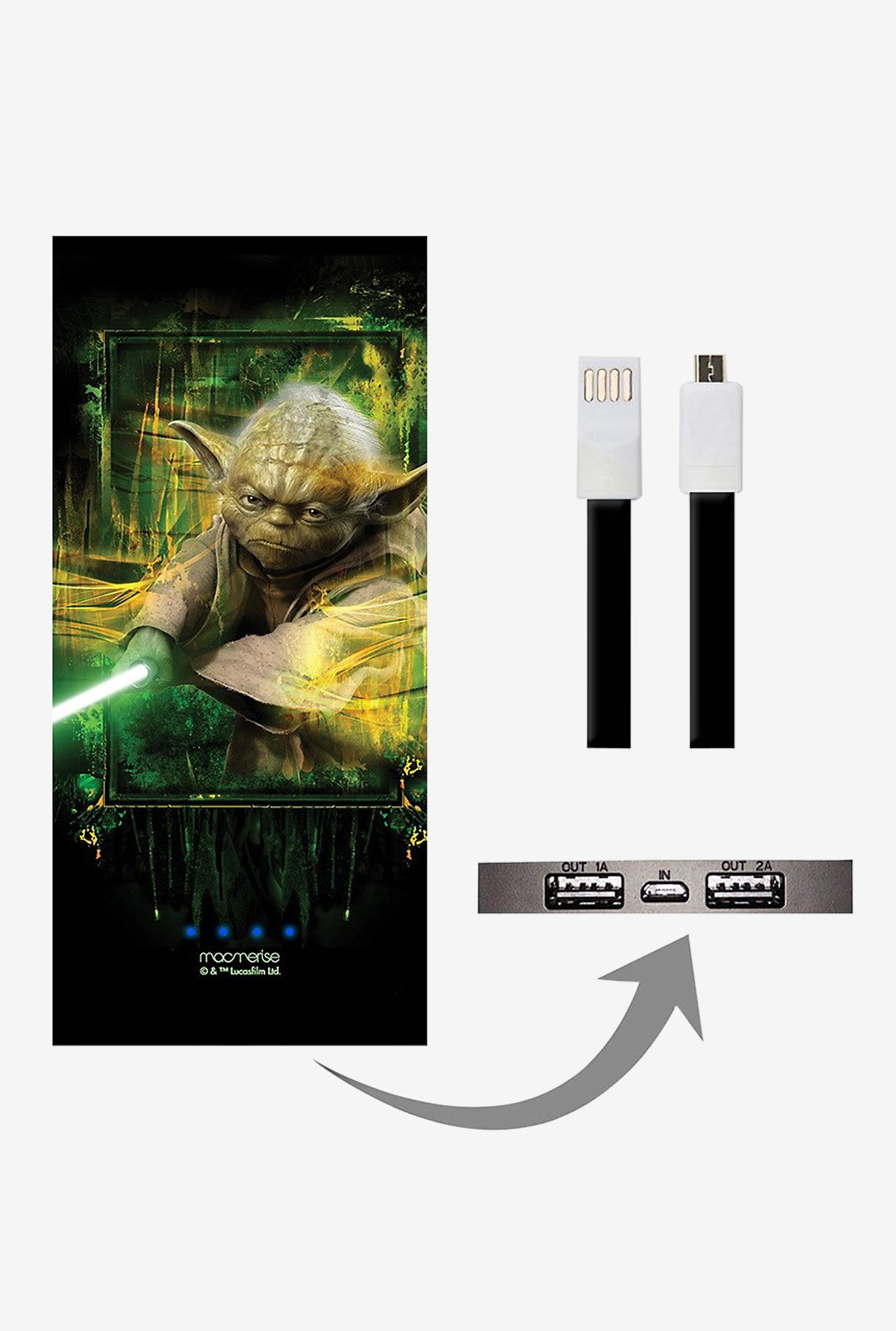 Macmerise Furious Yoda 8000 mAh Universal Power Bank