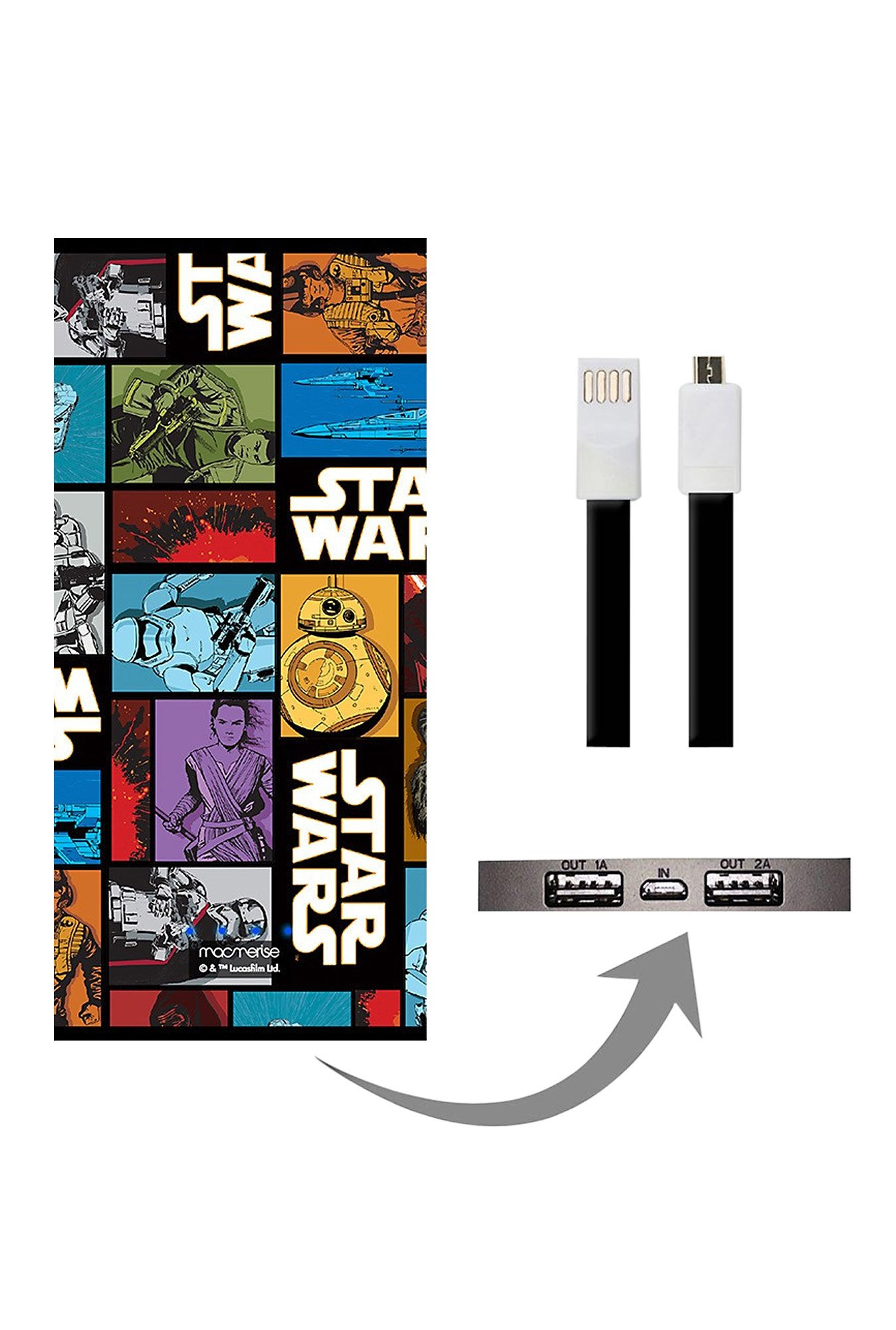 Macmerise The Force Awakens 8000 mAh Universal Power Bank