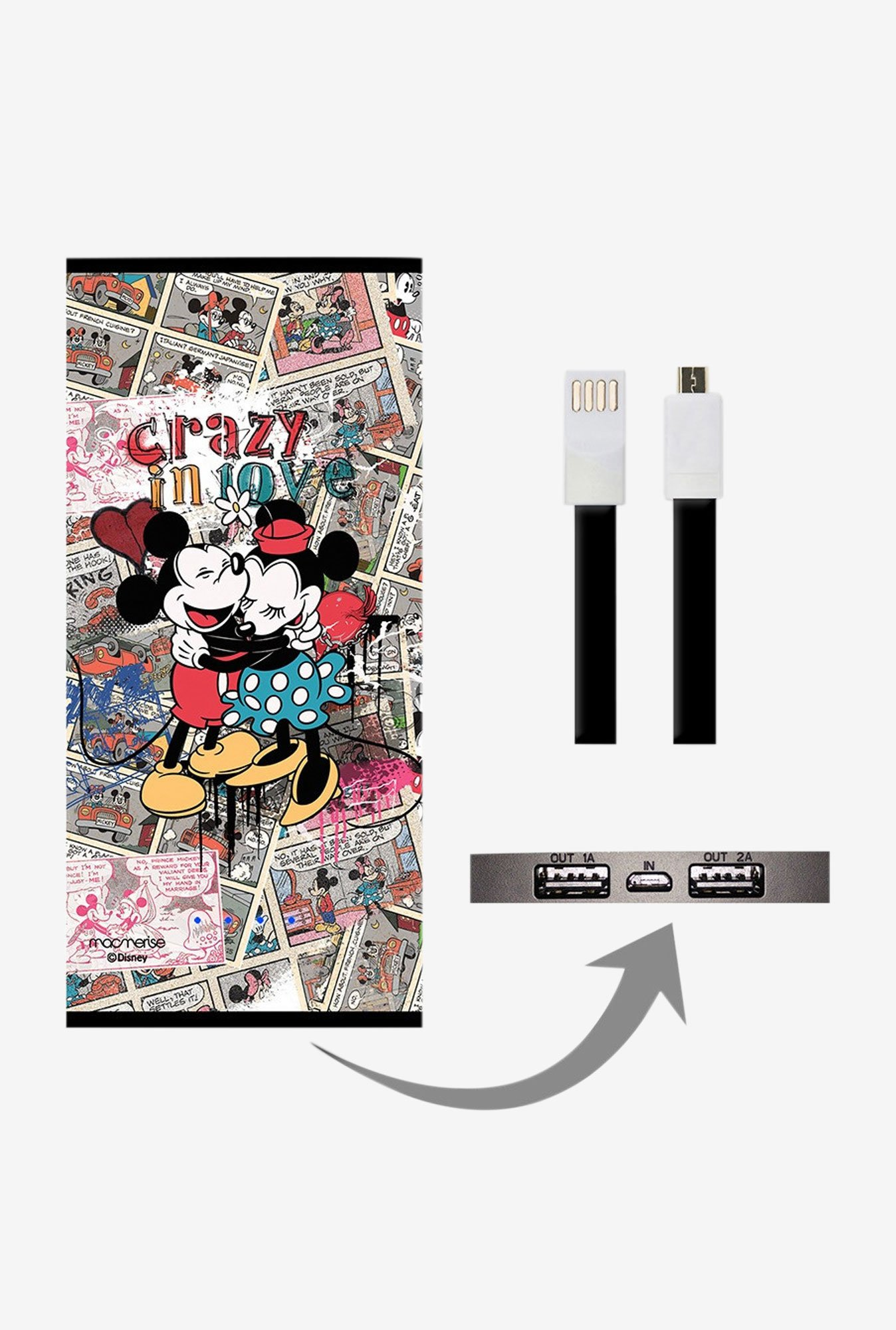 Macmerise Crazy In Love 8000 mAh Universal Power Bank
