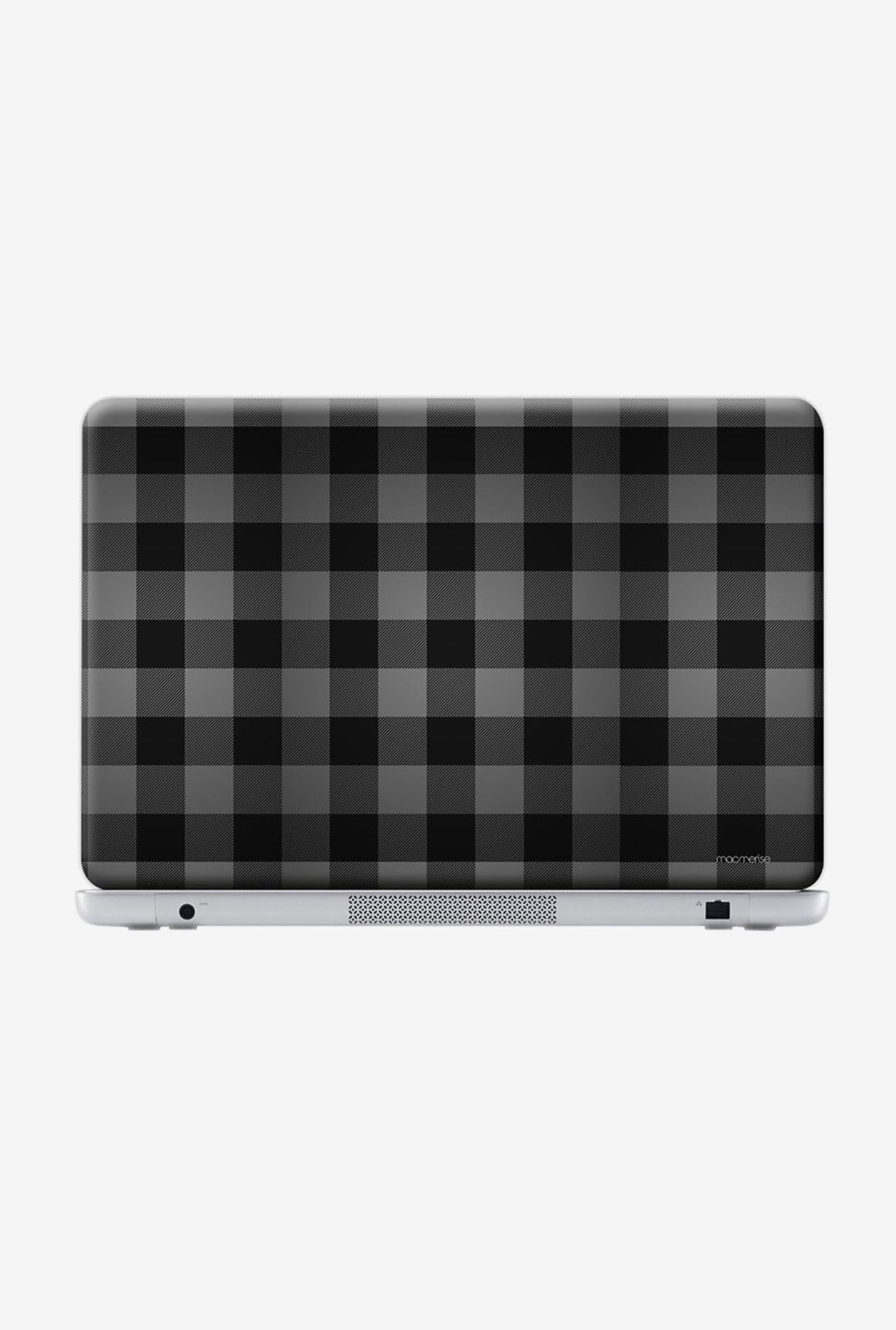 "Macmerise Checkmate Black Skin for 14"" Laptops"