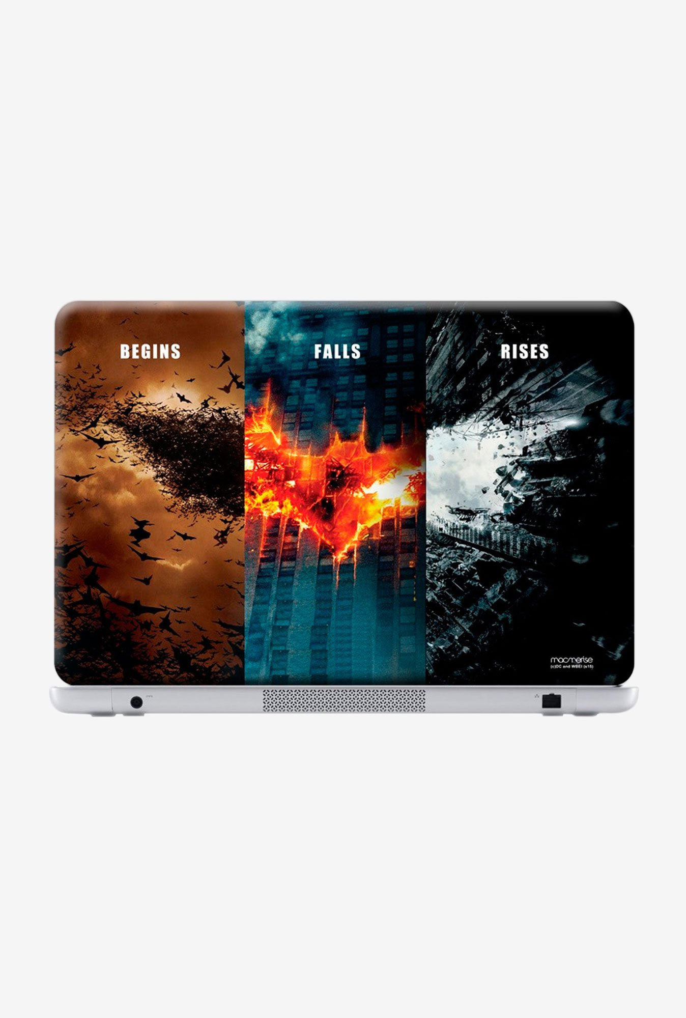 "Macmerise Batman Trilogy Skin for 15"" Laptops"