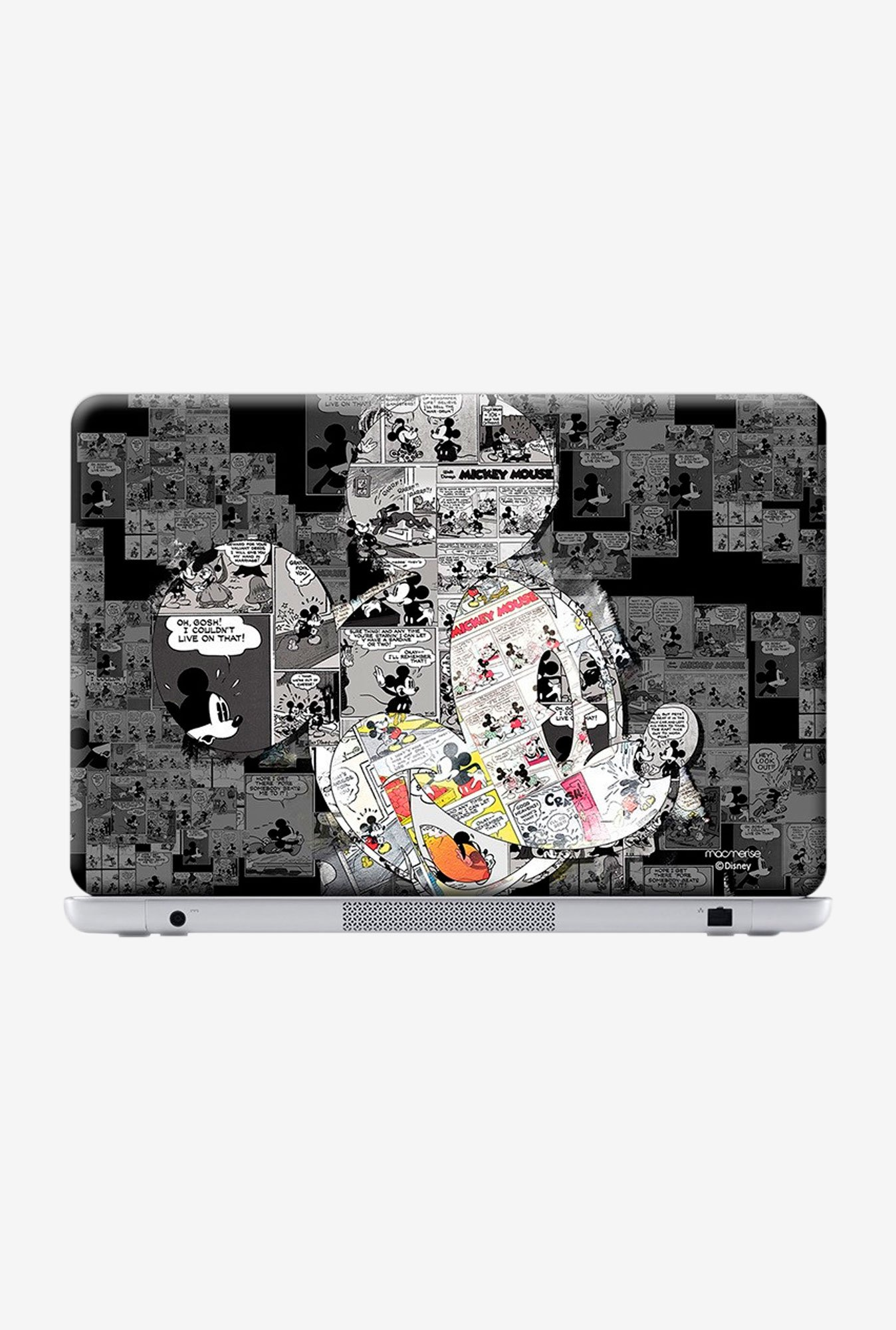 "Macmerise Mickey Times Skin for 15.4"" Laptops"