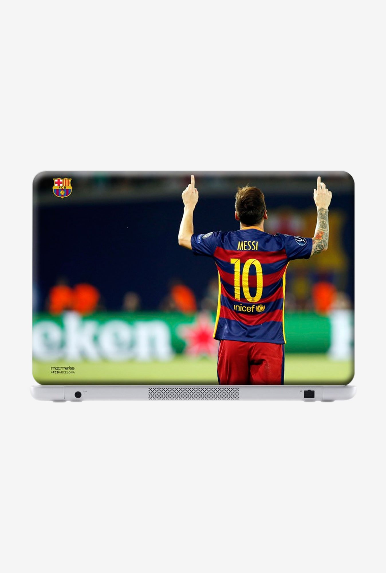 "Macmerise Strike Messi Skin for 15.4"" Laptops"