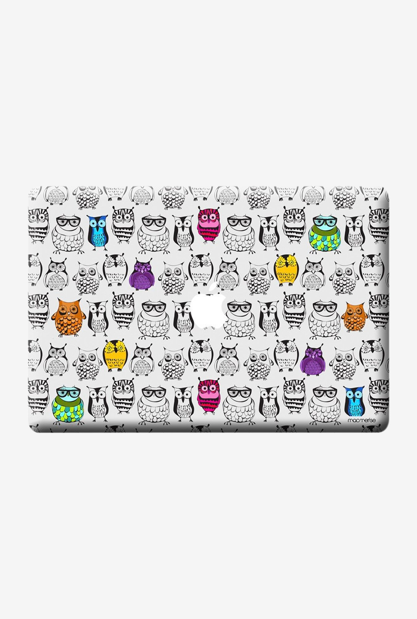"Macmerise Owl Art Skin for 11"" MacBook Air"