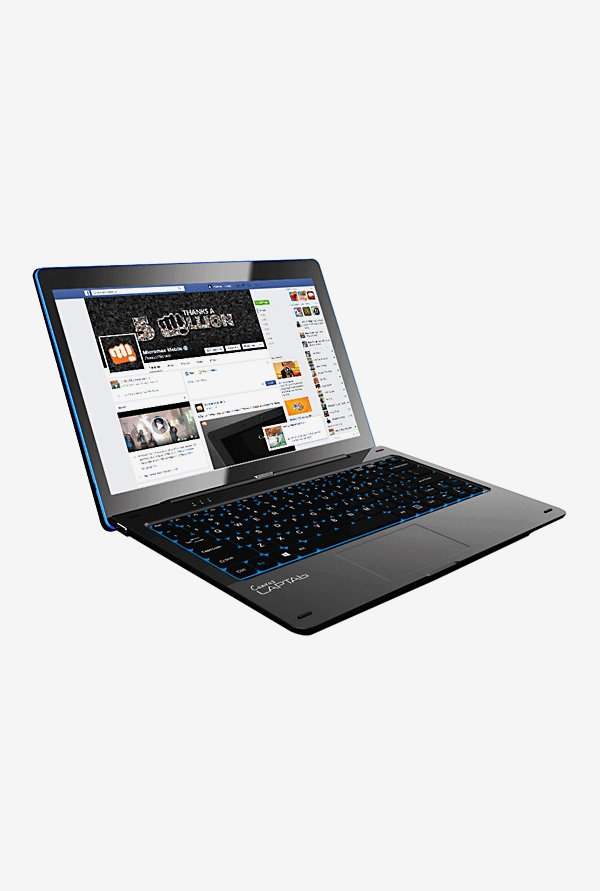 Micromax Canvas LT777W 29.46cm Laptab(Intel Atom,64GB) Black