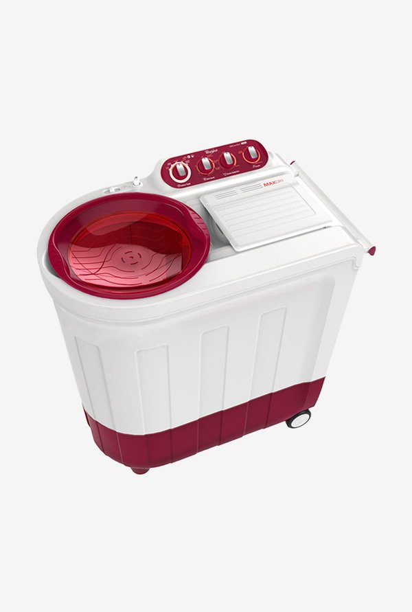 Whirlpool Ace 6.8 Royale Washing Machine Coral Red