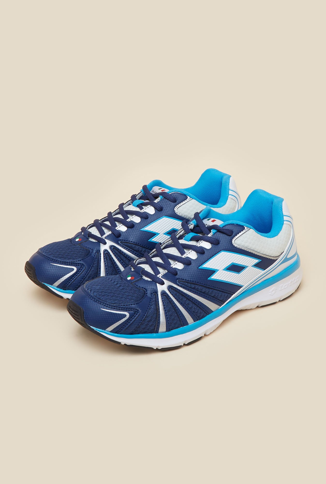 Lotto Flyride Blue & White Running Shoes
