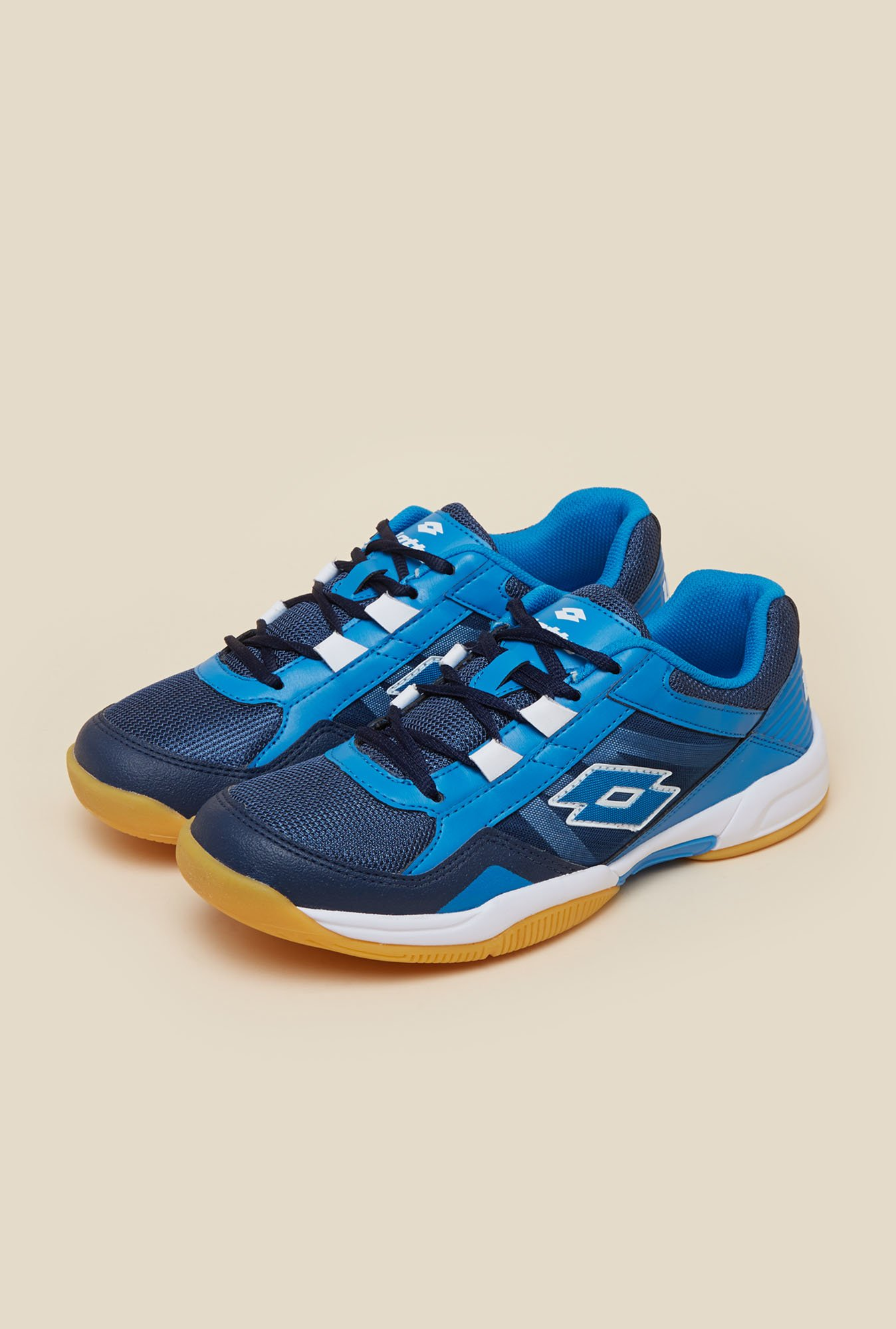 Lotto Jumper VI Navy Indoor Court Shoes