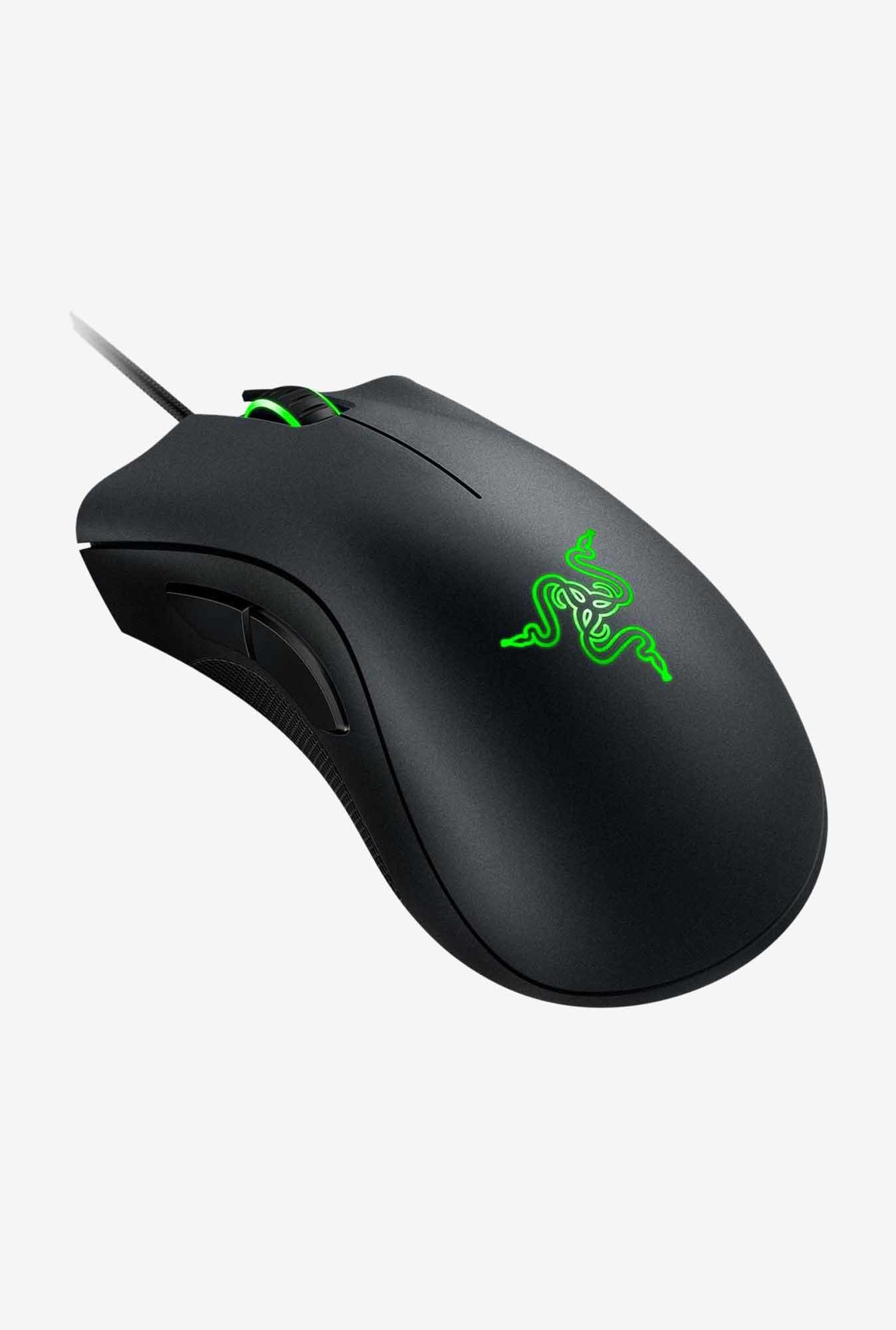 Razer DeathAdder Chroma RZ01-01210100-R3A1 Mice Black & Green