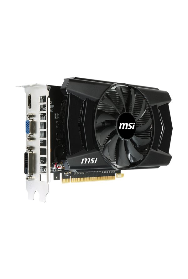 MSI N750Ti-2GD5/OC Graphics Card Black