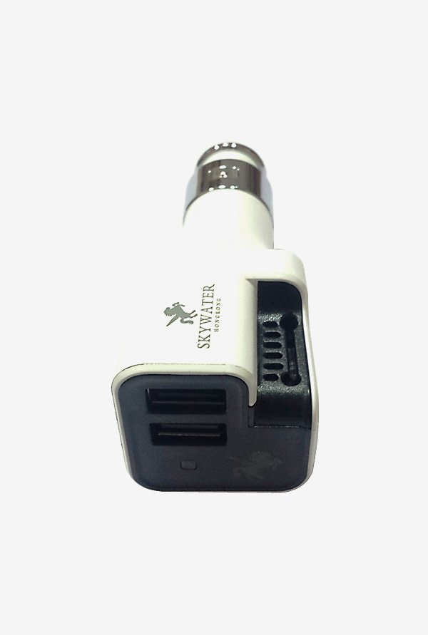Skywater SW-162 Car Charger & Air Purifier White