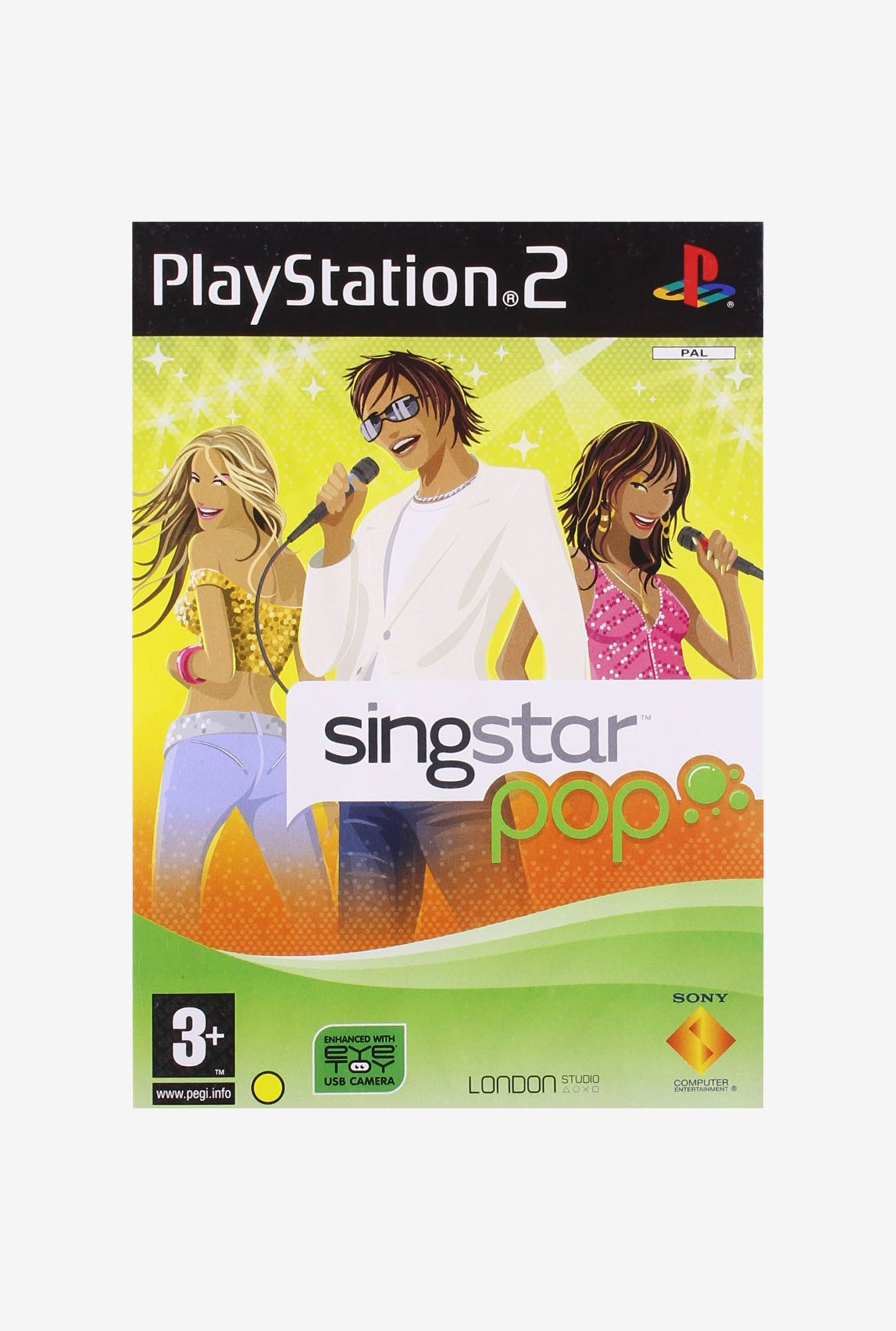 Sony Sing Star Pop - Stand Alone PS2 Game