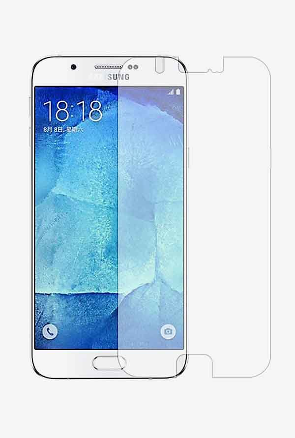 Stuffcool Puretuff Tempered Glass for Samsung Galaxy A8