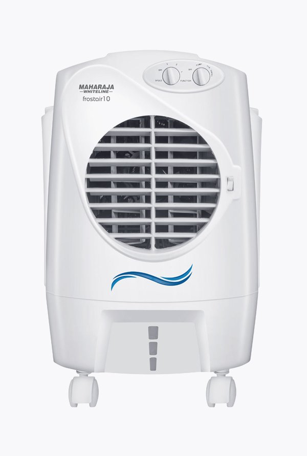 Maharaja Whiteline Frostair 10 Litres Air Cooler (White)
