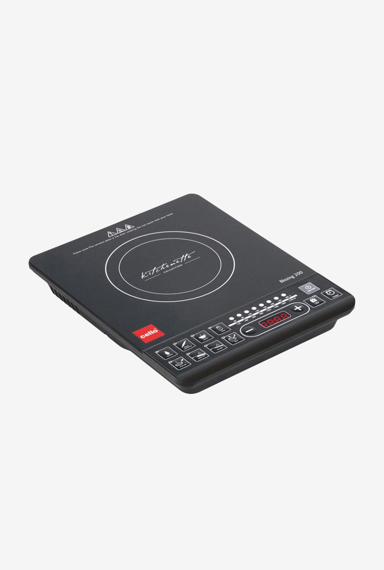Cello Blazing 200 2100W Induction Cooker Black