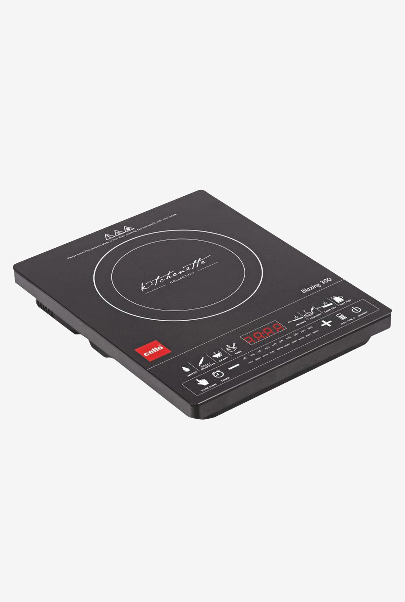 Cello Blazing 300 2100W Induction Cooker Black