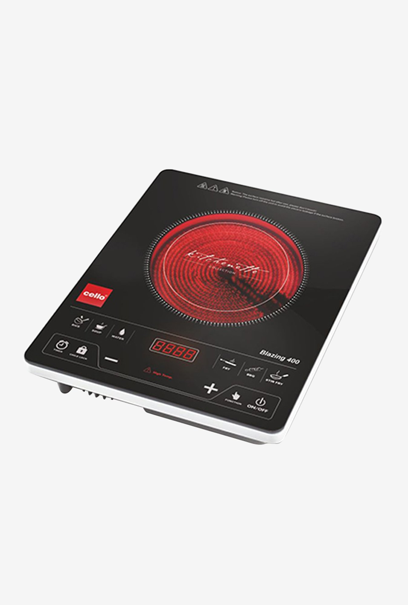 Cello Blazing 400 2000W Induction Cooker Black