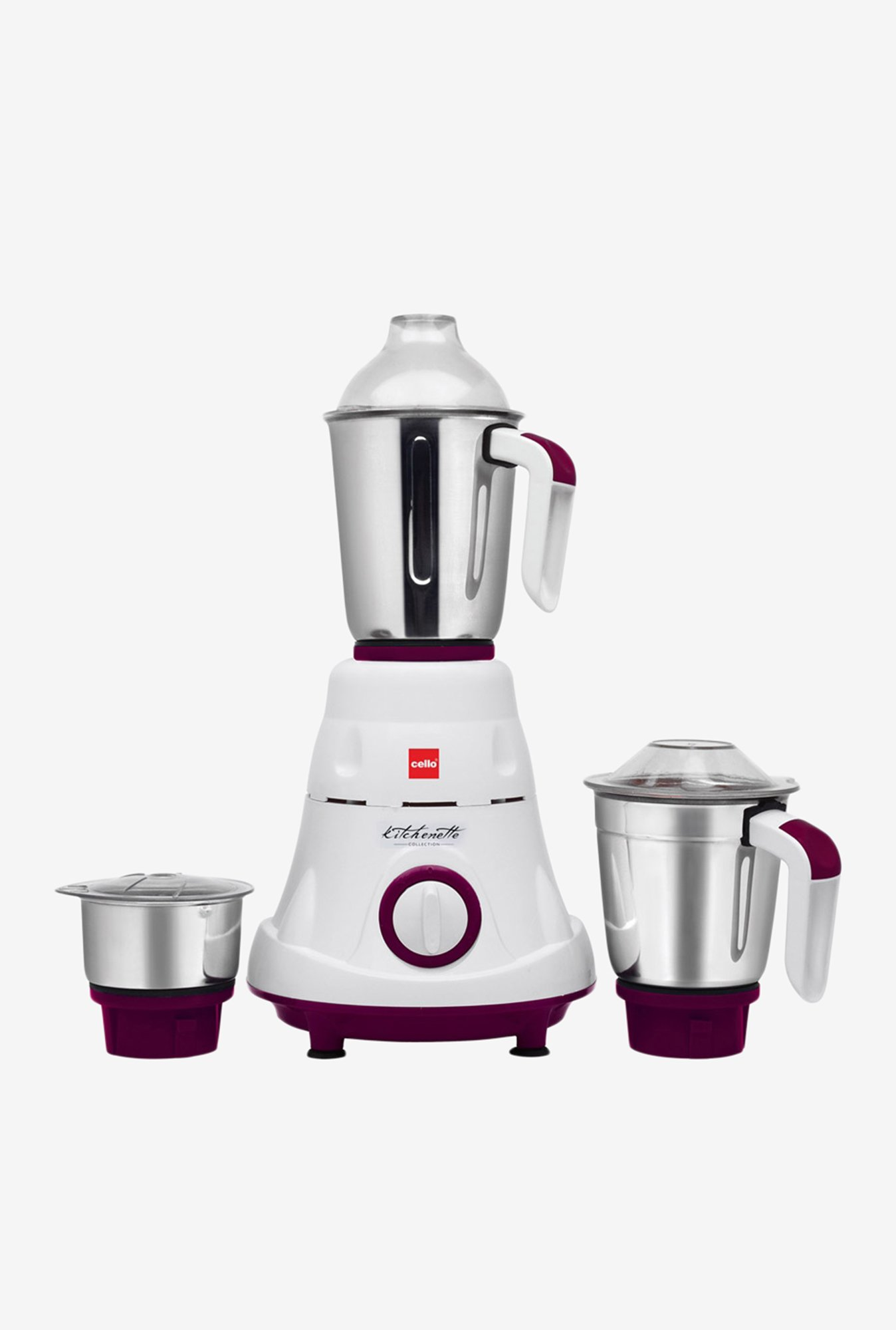Cello 500W Grind-N-Mix 900 Mixer Grinder Purple & White