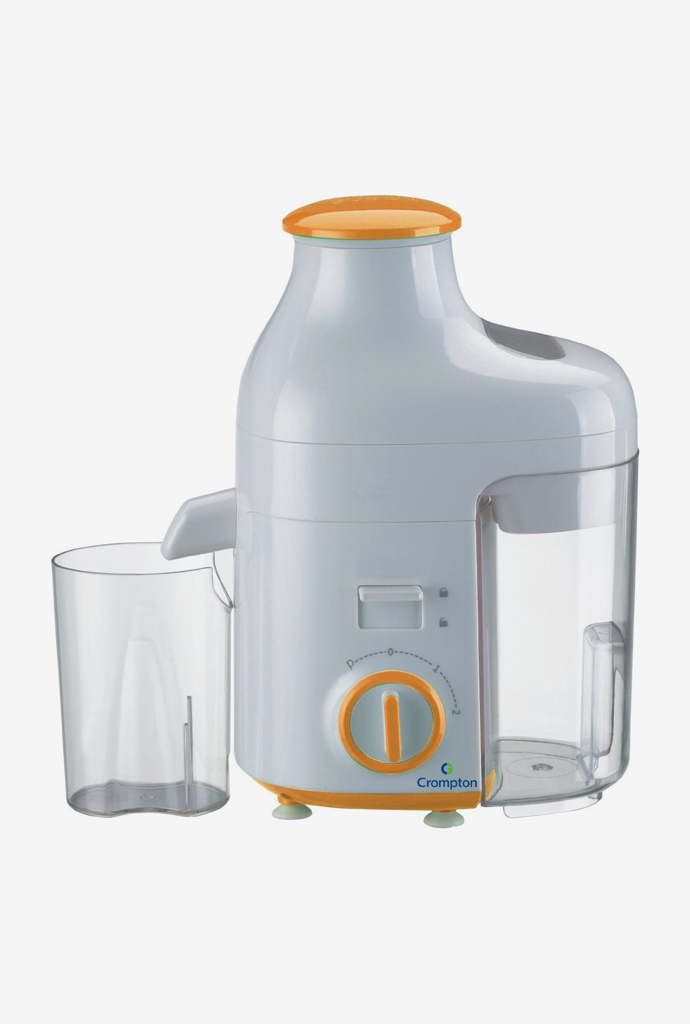 Crompton ACGJE-JES2O-I Juicer Extractor with 0.95 Litre Pulp Collector