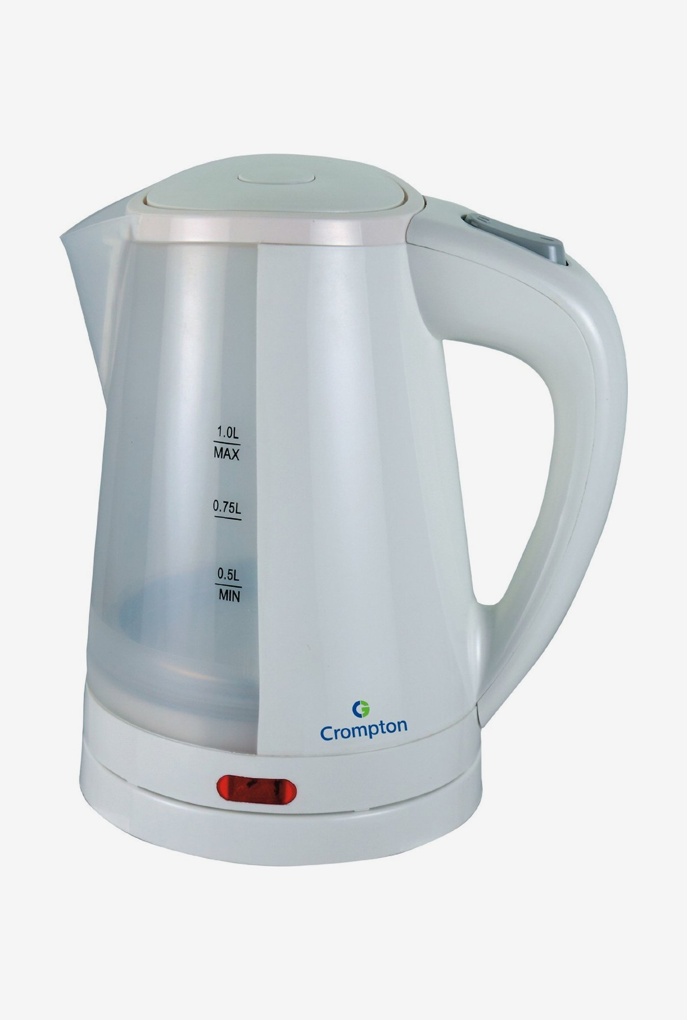 Crompton Cordless 1.0 Litre II 2200 Watt Electric Water Kettle