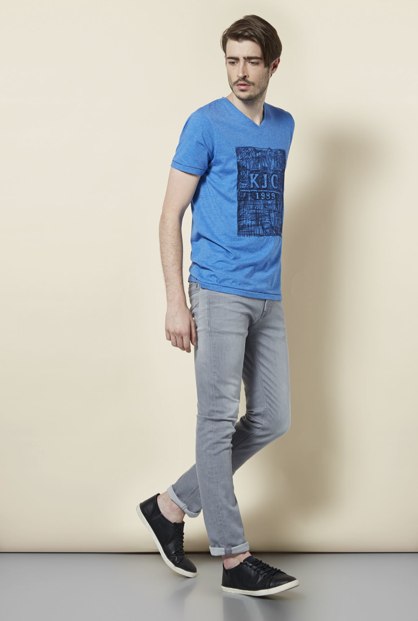 Killer Royal Blue Printed T Shirt