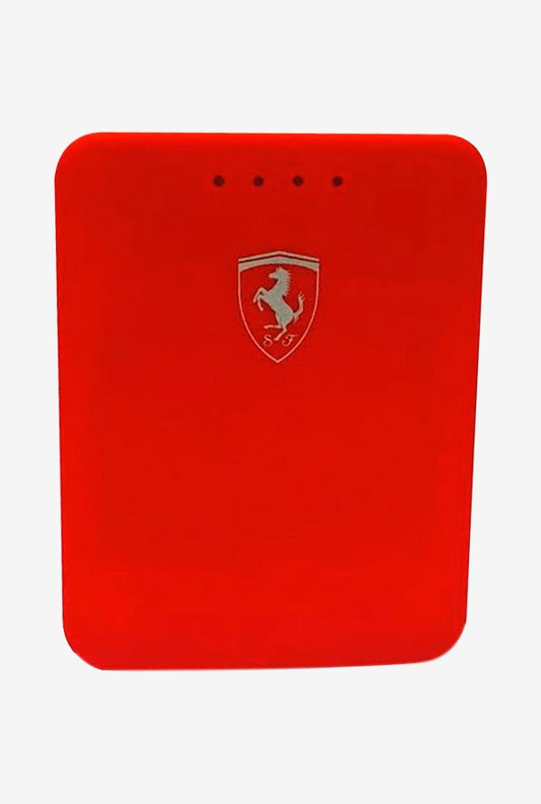 Ferrari 10400 mAh Power Bank (Red)