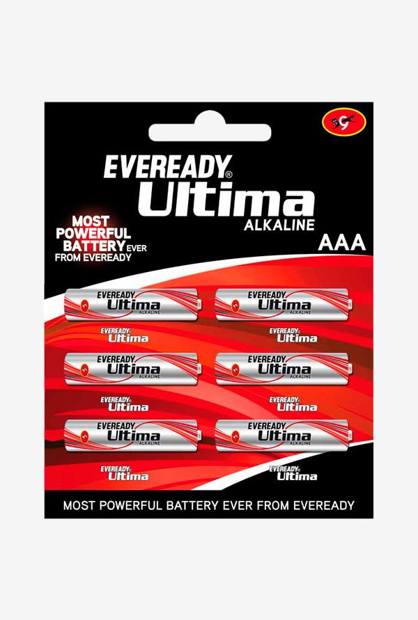 Eveready Ultima AAA Battery Pack of 6