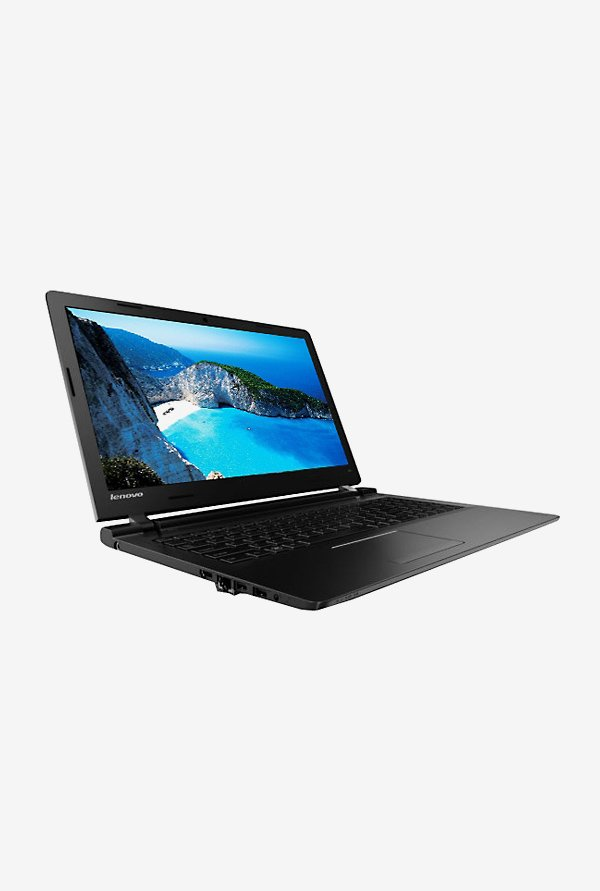 Lenovo 100-15IBY 39.62cm Laptop (Intel Pentium, 500GB) Black