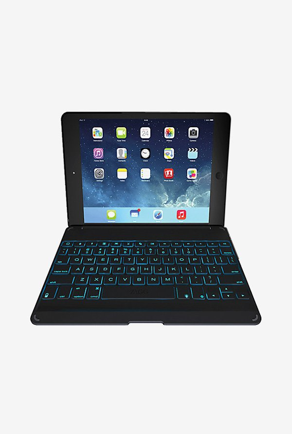 ZAGG Folio Case Tablet Keyboard Black for iPad Air