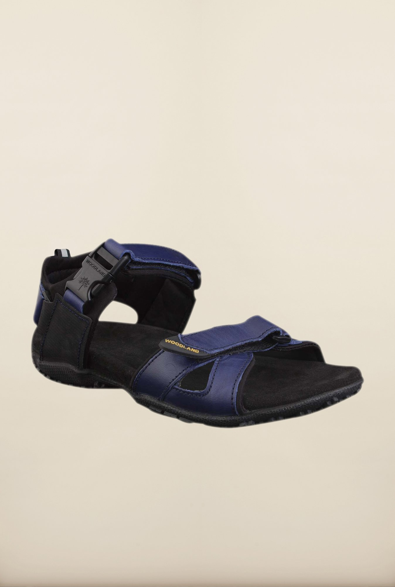 Woodland Dark Blue Floater Sandals