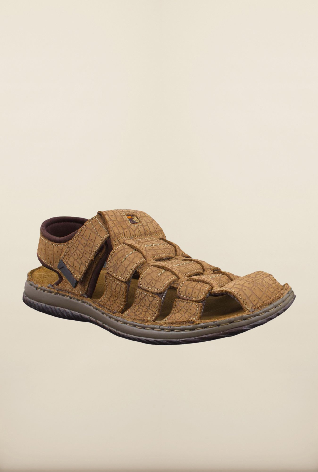 Woodland Copper Fisherman Sandals