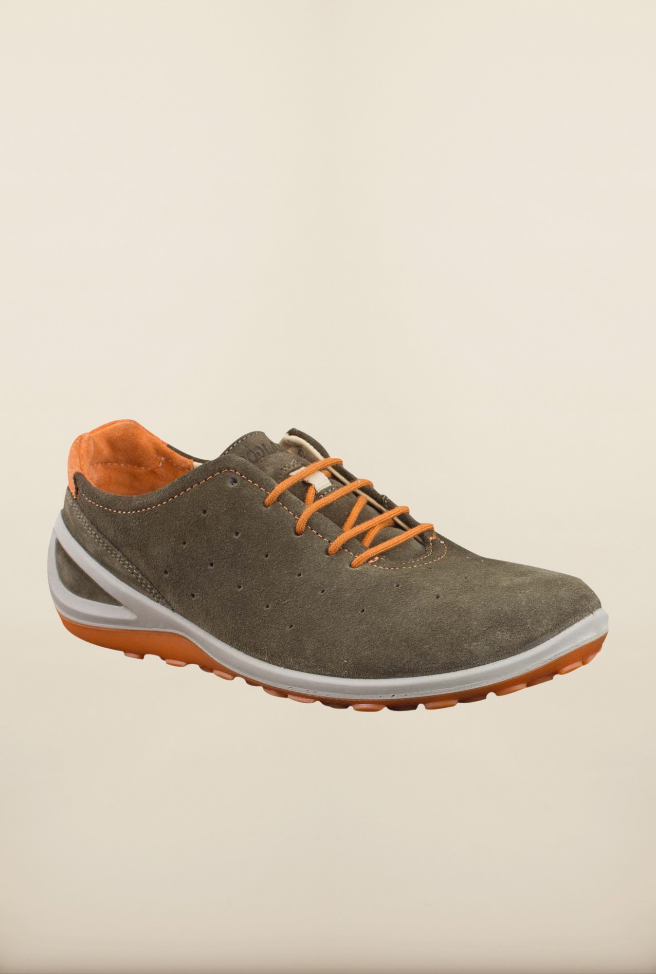 Woodland Olive Casual Shoes