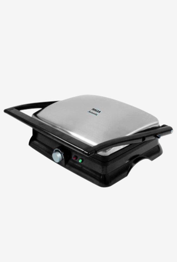 Inalsa Asteria Electric Contact Grill Black & Silver