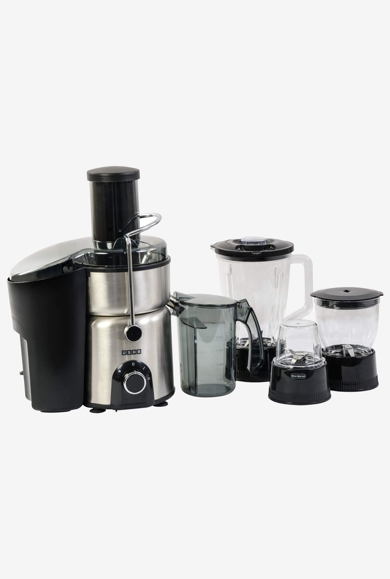 Usha 3274 700 Watt Juicer Mixer Grinder Stainless Steel