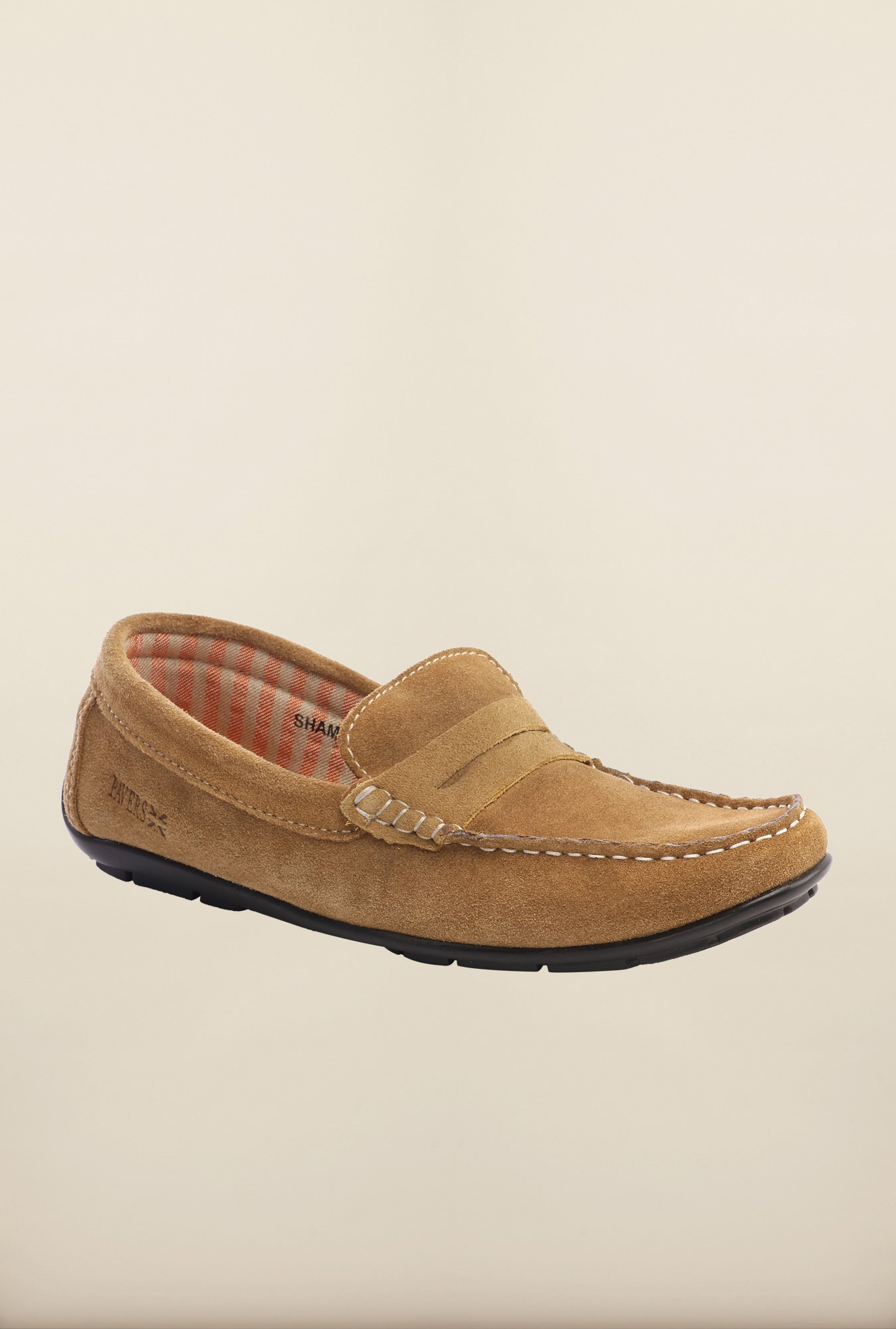 Pavers England Beige Loafers